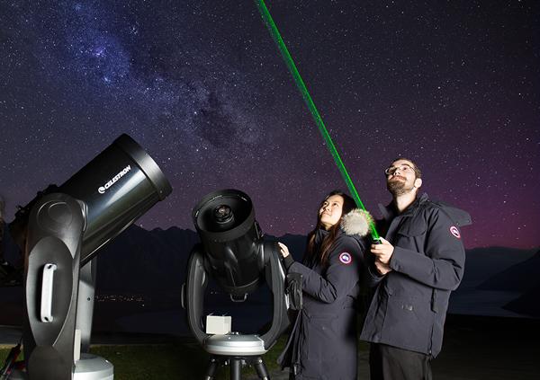 夜空觀星之旅
